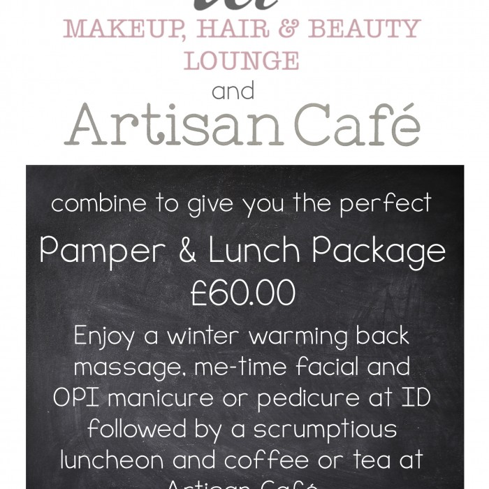 Pamper & Lunch Package at ID with Artisan Café