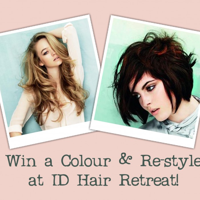 WIN A DAVINES COLOUR & RE-STYLE AT ID!
