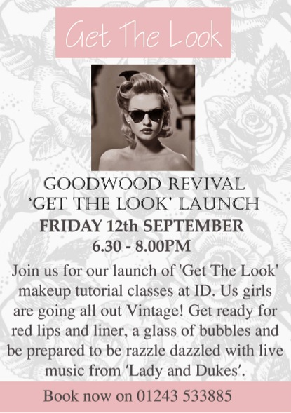 GET THE LOOK LAUNCH
