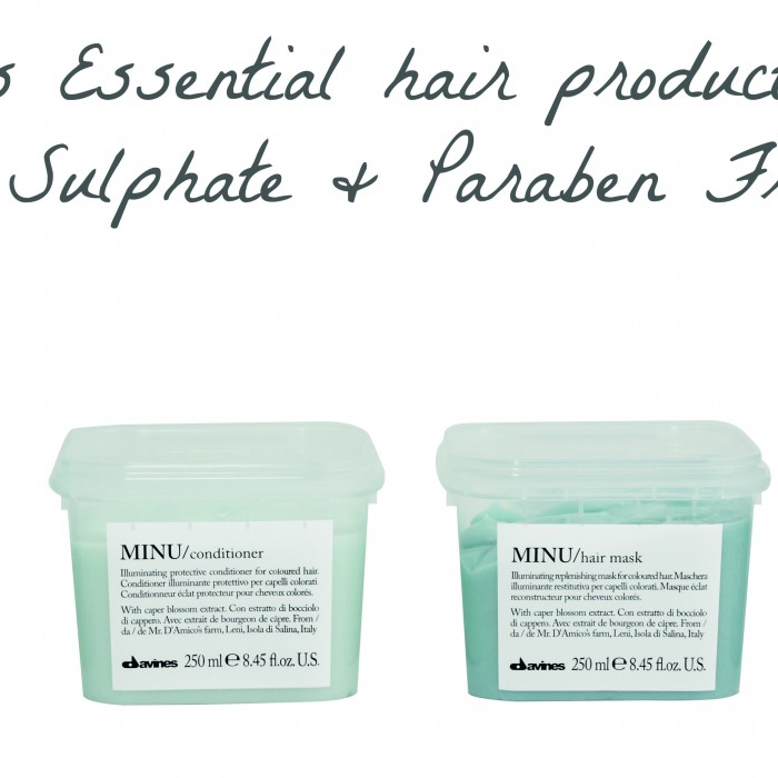 Davines Essential hair care range