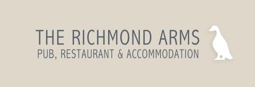 The Richmond Arms Logo Beige