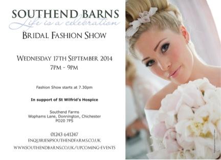 southend barns Lucy olivia ward fashion show