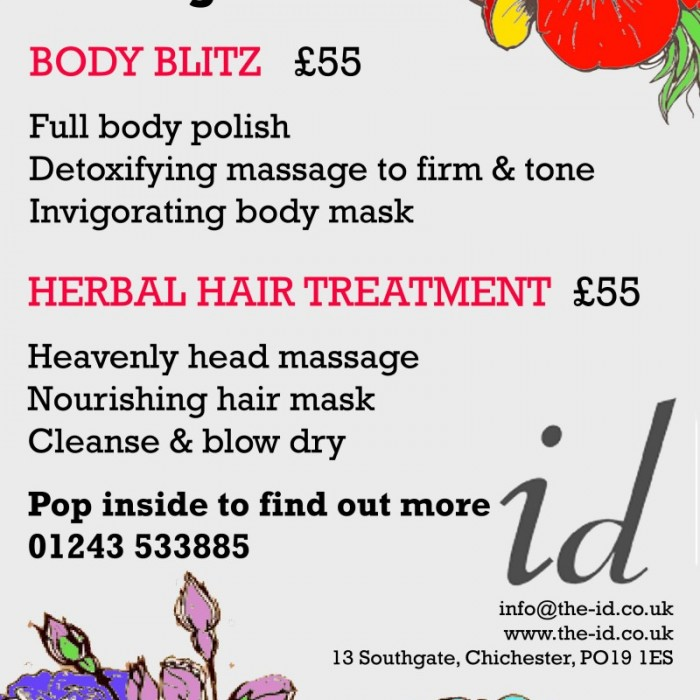 Launch of our Davines Eco Spa Packages at ID Beauty Lounge in Chichester