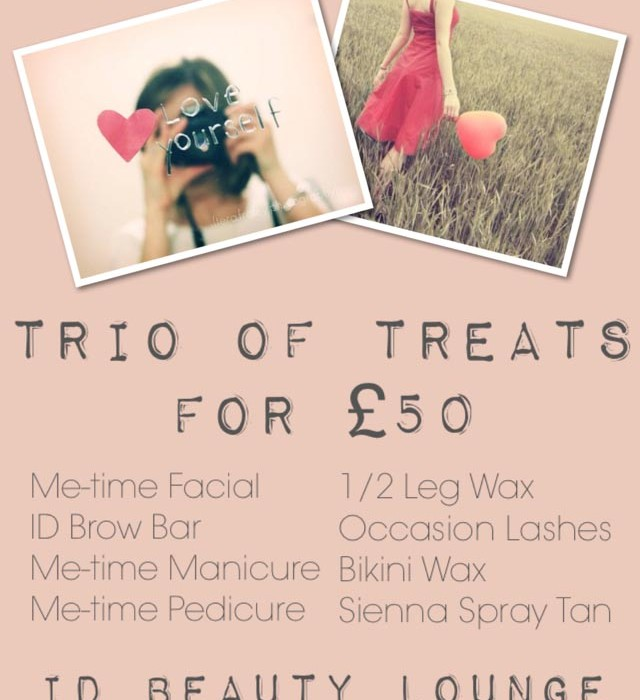 Trio of Treats for £50