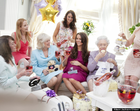 Royal Baby Shower at ID Beauty Salon in Chichester