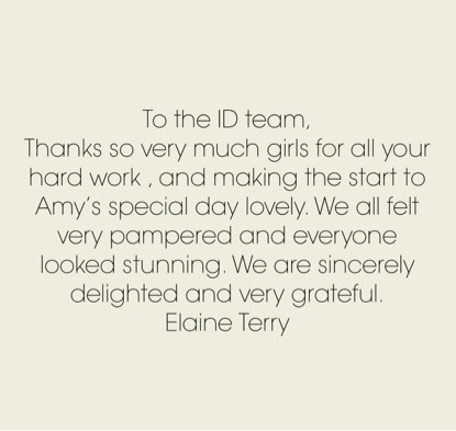 To the ID team